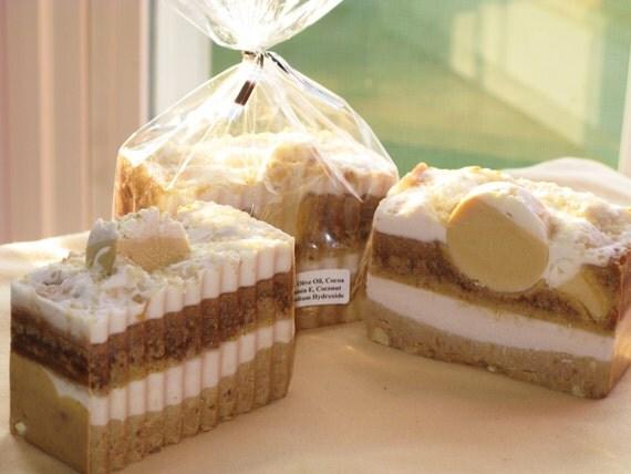 Banana Cream Cake Soap