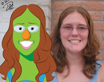 Custom Puppet Illustration of yourself or someone you know
