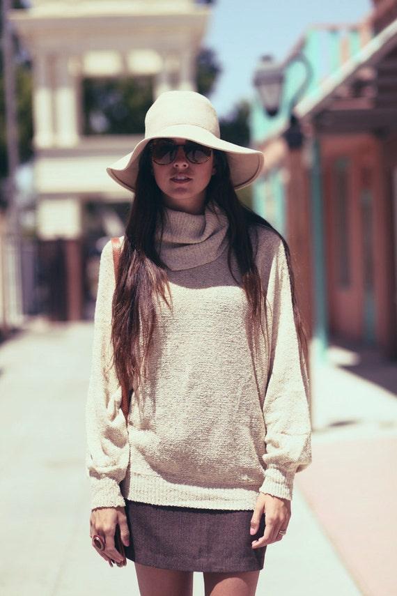 Camel Brown Long Sleeve High Fashion Turtleneck - Gabriella