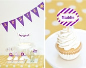 "Rapunzel Sun ""HAPPY BIRTHDAY"" Printable Banner"
