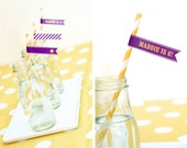 """Rapunzel """"BEST DAY EVER"""" Sun Flags Cupcake Toppers Printable"""