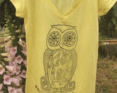 Yellow Yoga Shirt size.M