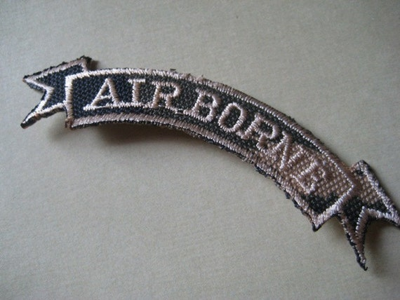Vintage Airborne Patch