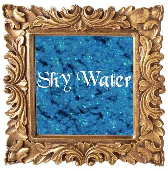Shy Water 5g Pigmented Mineral Eye Shadow Jar with Sifter
