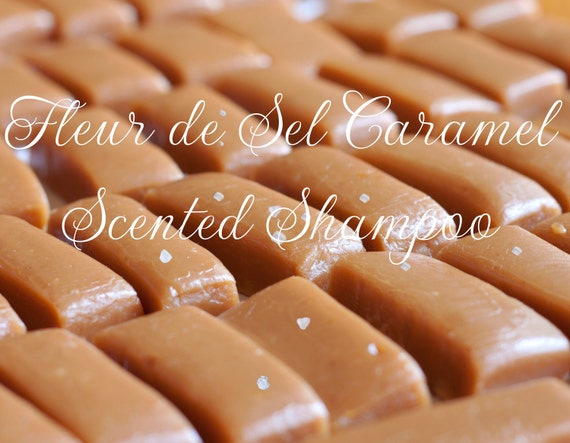 Fleur de Sel Caramel Scented Shampoo by Dollipop Cosmetics