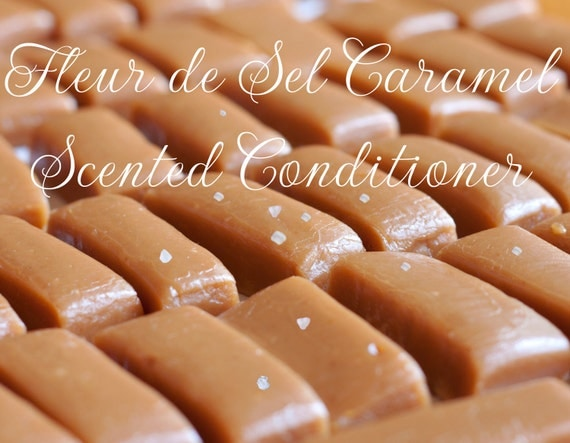 Fleur de Sel Caramel Scented Conditioner by Dollipop Cosmetics