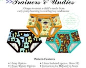 Big Boy Trainers and Undies PDF Pattern