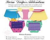 Big Girl Swim Diaper ADDENDUM to Big Girl Trainers PDF Sewing Pattern