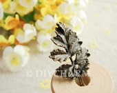 Antique Bronze Lovely Tree Charms 18x31mm - 10Pcs - DC22295