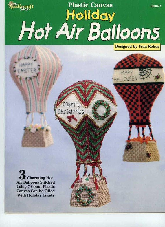 Holiday Hot Air Balloons Pattern Booklet from The Needlecraft Shop 1999