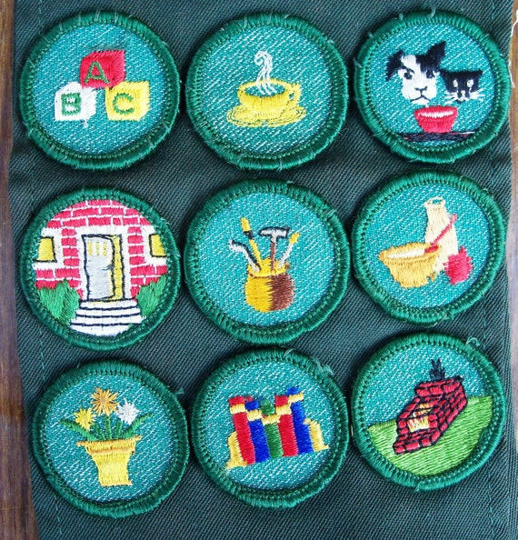 girl scout badges for sale