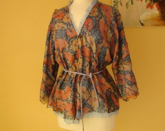Nuno felted jacket, cardigan.. Reversible 2 in 1