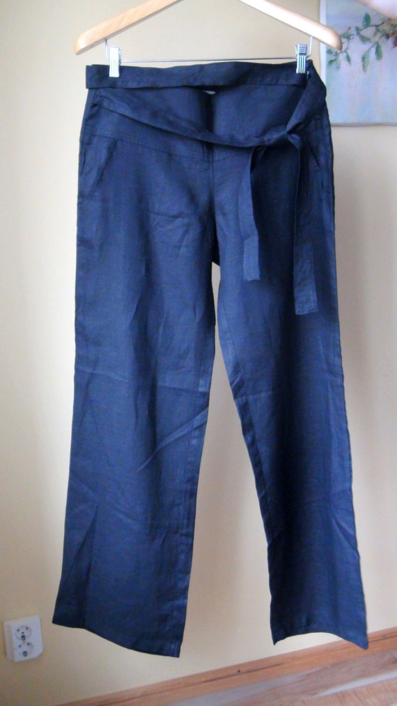 Linen Pants ,  Eco friendly, size L