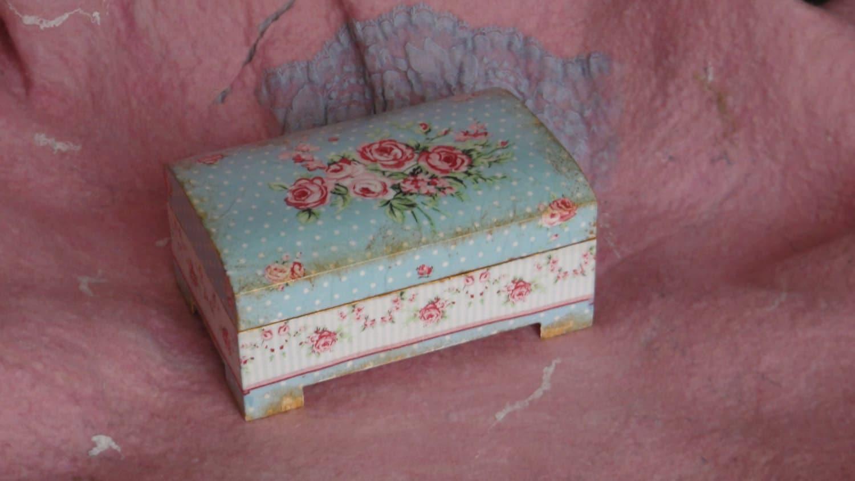 Decoupage Wood Decoupage Wood Box