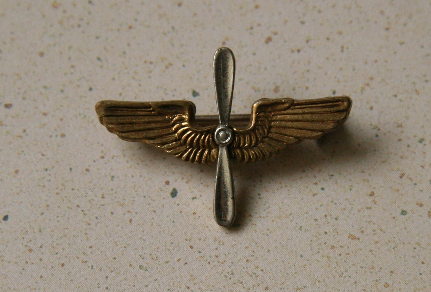 Army air corps lapel pin 1940s by eleganteras on etsy