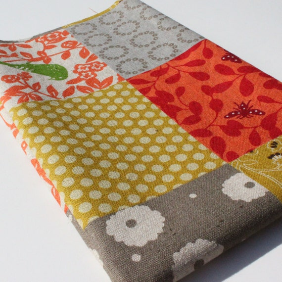 Japanese Fabric - Patchwork - Story - by Echino -  Etsuko Furuya - FAT QUARTER