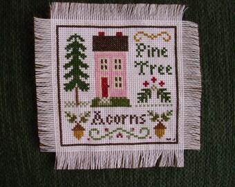 PINE TREE and ACORNS