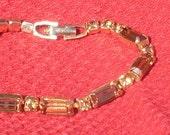 Vintage Honey Topaz Colored Weiss Bracelet
