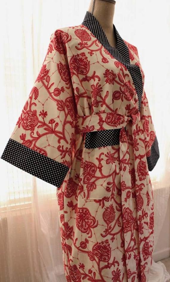 Long Kimono Robes