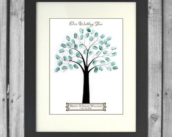 Printable Wedding Tree