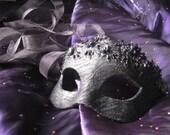 Persephone Handmade Leather Mask