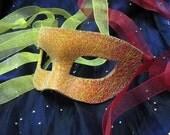 Sunrise Handmade Leather Masquerade Mask