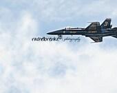 Blue Angel Painting Print 11 x 14