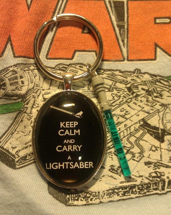 Lightsaber Keychain