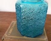 Vintage Turquoise Jar Vase