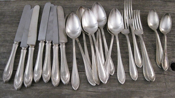 Vintage Community Silver Flatware Set