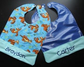 Personalized Bib - Embroidered with your child's name