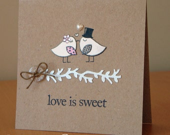 Sweet Love Birds Card