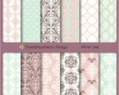 Scrapbooking papers - Personal Or Small Commercial Use (S011)
