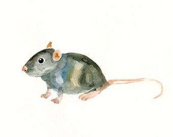MOUSE by DIMDImini 7x5inch Print