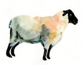 SHEEP by DIMDImini 7x5inch Print