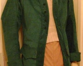 Beautiful Classical Victorian Jacket, Brown
