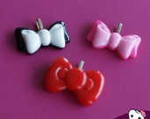 Bow Necklace Charms