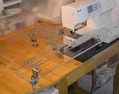 """24"""" x 24"""" Adjustable Sewing Extension Table"""
