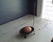 Vintage Egg Dipper, Easter, Strainer