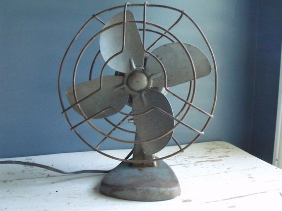 Vintage Electric Fan Rex Ray