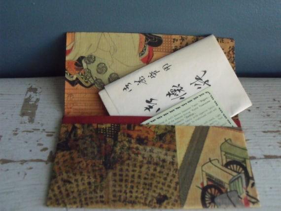 Japanese Paper Wallet Zemliya Wagami Vintage