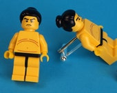 Sumo Wrestler LEGO minifigure cufflinks