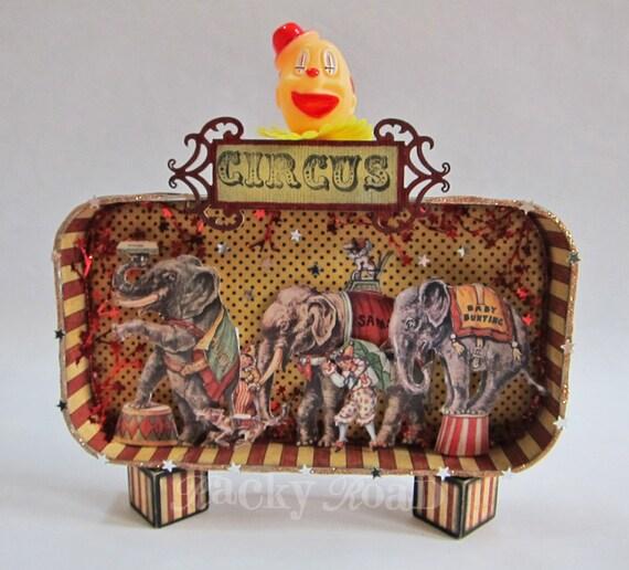 Circus Elephant Parade Giant Altered Altoid Tin