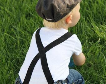 Boy's Suspender Onesie