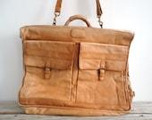Gorgeous Super Soft Leather Garment Bag