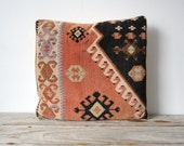 Large Patterned Kilim Style Pillow