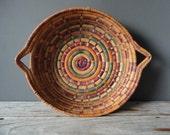 Large Southwestern Woven Basket