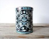 Vintage Blue & White English Candy Tin.