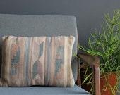 Pastel Southwestern Blanket Kilim Pillow