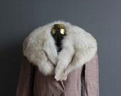 Luxe Arctic Fox Fur Collar